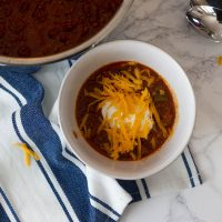 First Place Low Carb Chili