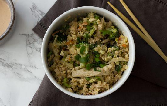 Keto Stir Fried Cauliflower Rice