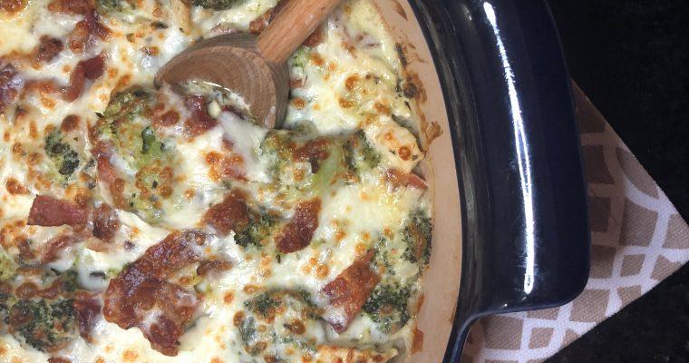 Spinach Artichoke Chicken Casserole