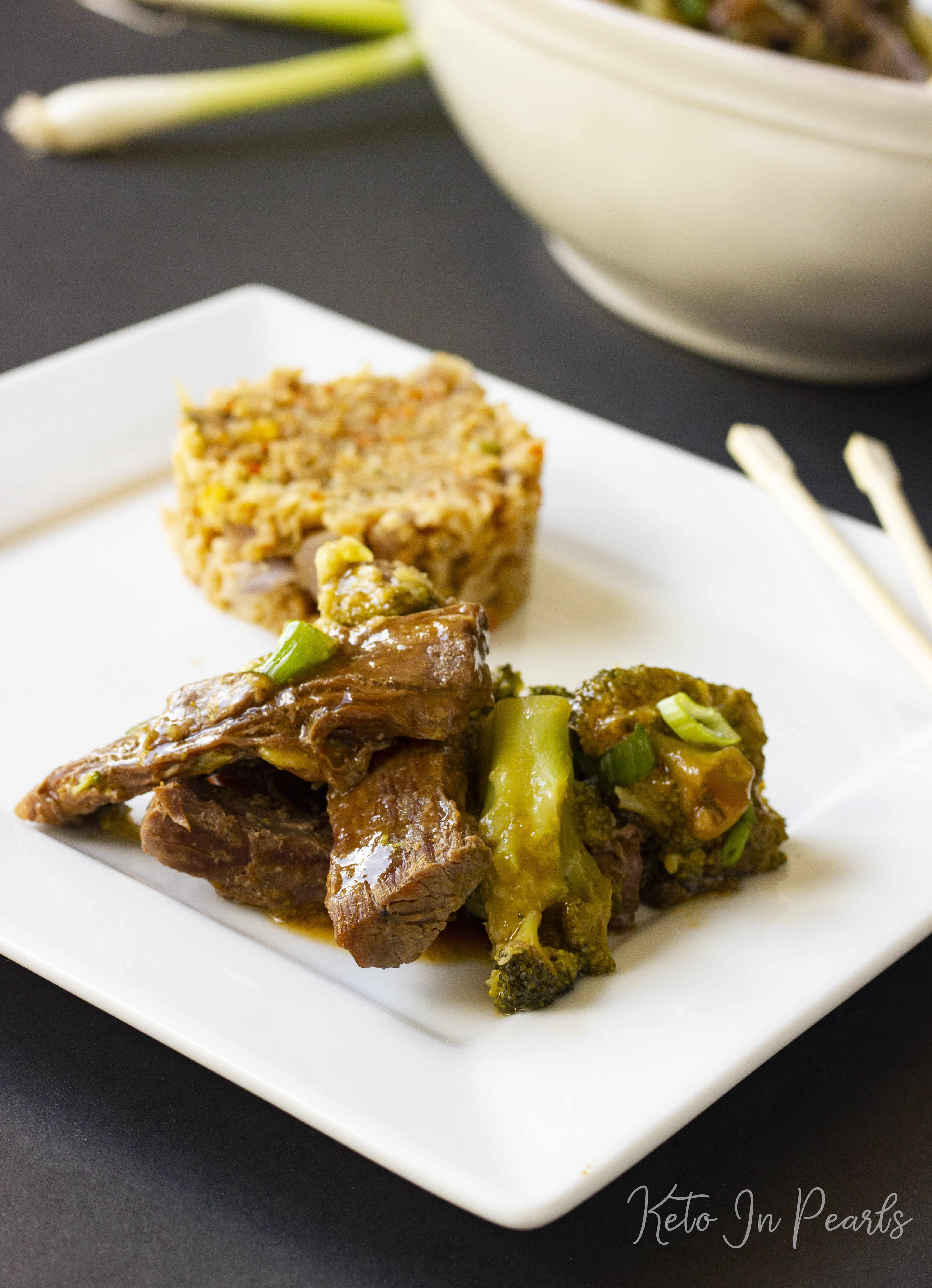 Satisfy your keto Chinese take-out cravings with this recipe for Instant Pot keto beef and broccoli. Crock-pot and Instant Pot instructions included.