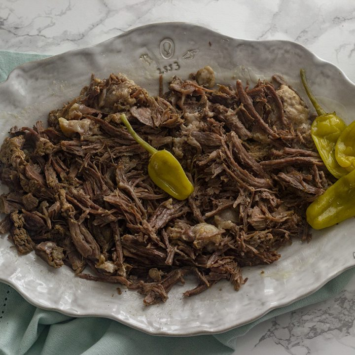 Low Carb Mississippi Pot Roast
