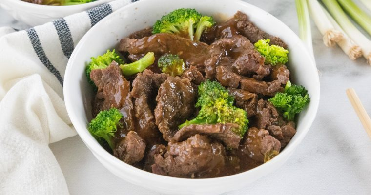 Take-Out Style Low Carb Beef and Broccoli