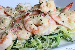 Creamy Keto Shrimp Scampi