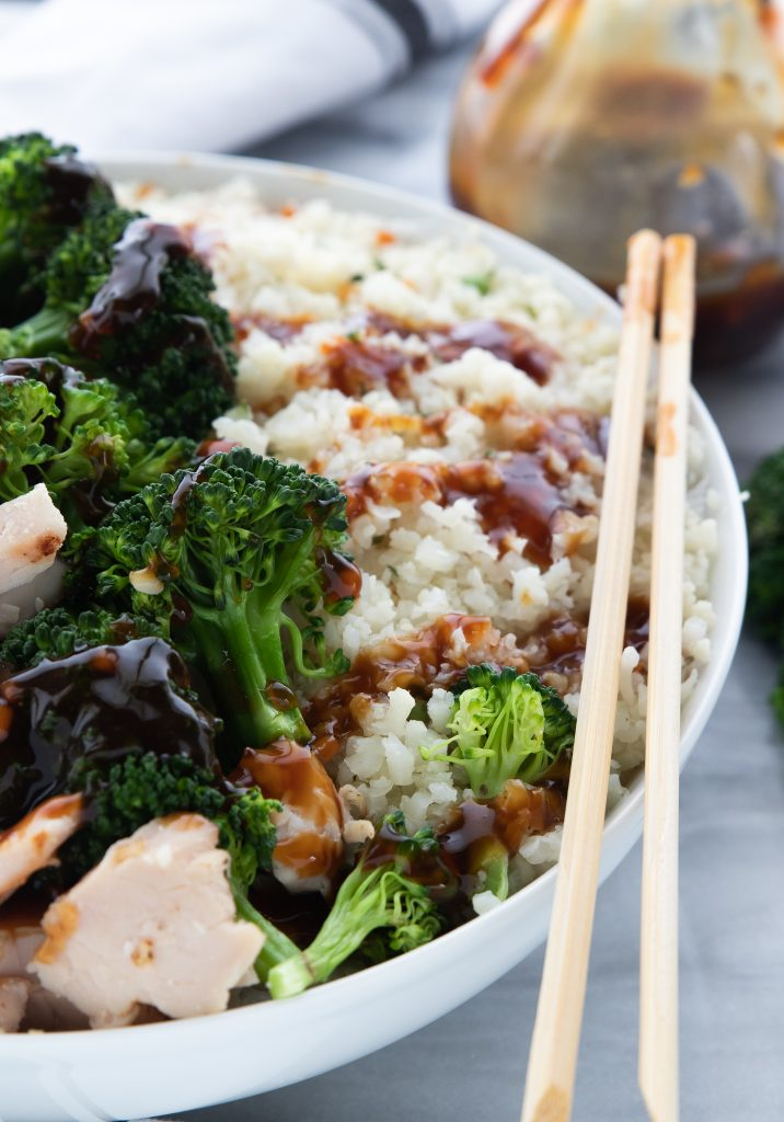 Sugar Free Teriyaki Sauce : keto, low carb, family friendly