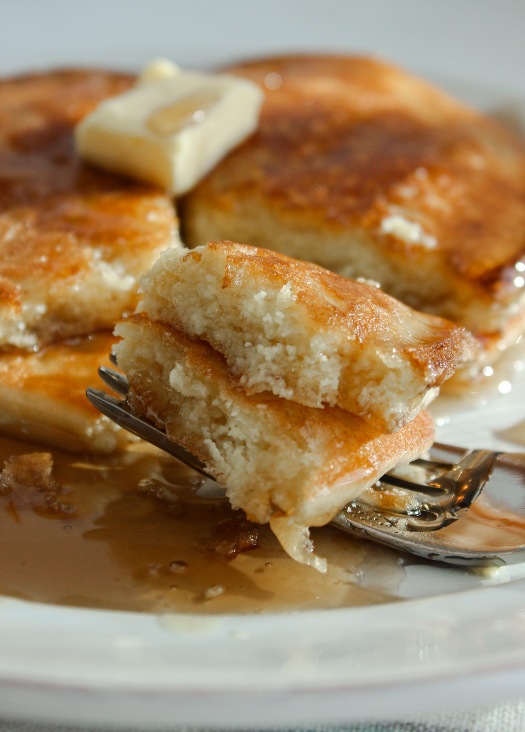 No other keto pancake recipe can stack up to this one! Thick, fluffy, and buttery low carb keto pancakes are just 1.8 net carbs per serving.