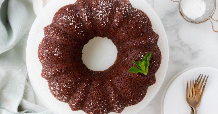 Dairy Free Chocolate Cake {keto, paleo, gluten free}