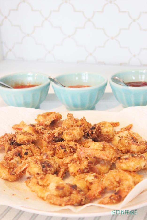 Low Carb Coconut Fried Shrimp