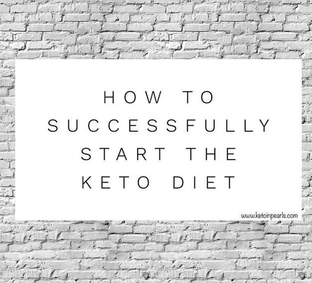 How to Successfully Start the Keto Diet
