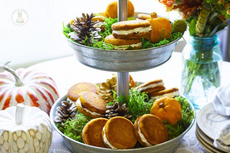 Keto Pumpkin Spice Whoopee Pies