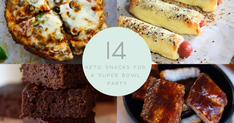 14 Keto Snacks for a Super Bowl Party