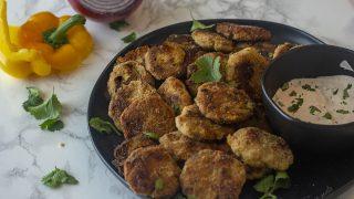 Low Carb Fajita Chicken Nuggets