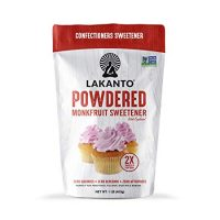 Lakanto Monkfruit 2:1 Powder Sugar Substitute | 1 Ib NON GMO (Classic Powder)