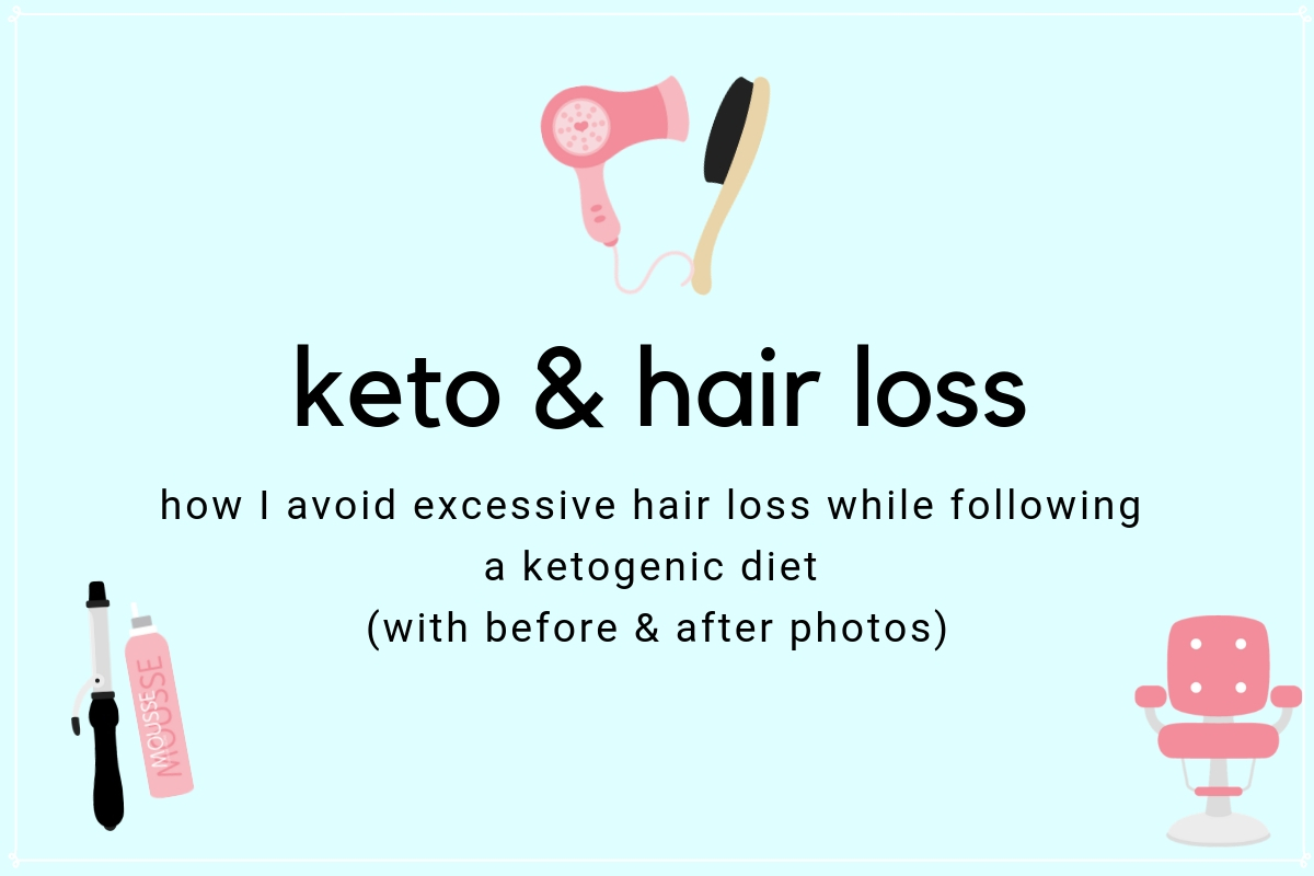 Keto hair loss doesn't have to be a thing! Easily prevent and remedy hair loss on keto with this one easy adjustment to your keto diet.