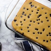 Baked Chocolate Chip Keto Pancake