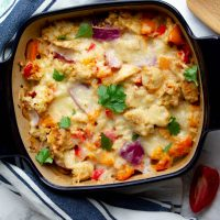 Low Carb Fajita Casserole