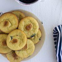Keto Blueberry Muffins: easy & kid friendly