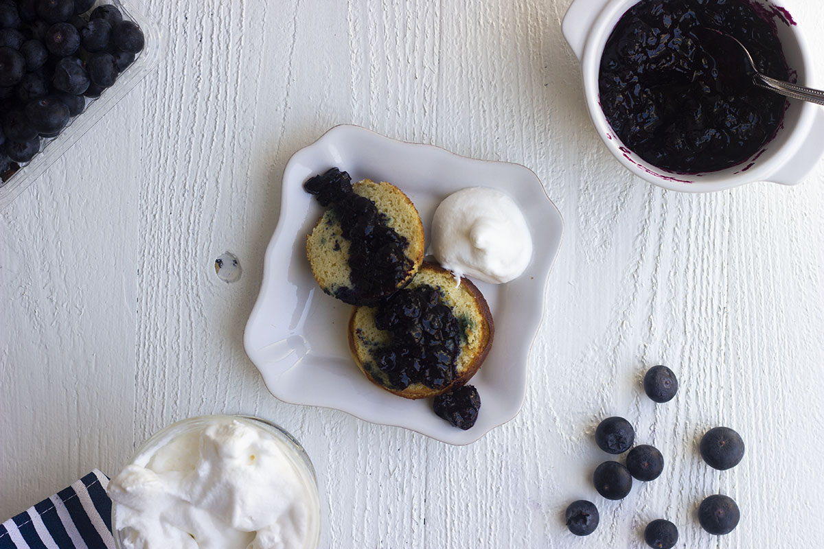 Homemade keto blueberry compote is perfect for your low carb pancakes, waffles, and muffins. Just 3 ingredients to make your own sugar free blueberry jam.