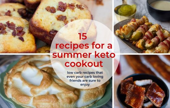 15 Recipes for Your Summer Keto Cookouts
