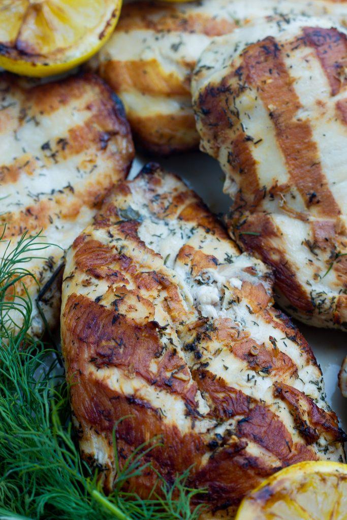 Lemon Dill Keto Marinade for Chicken, Pork, or Seafood