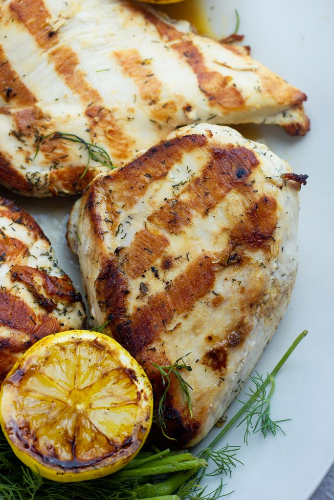 Lemon Dill Keto Marinade for Chicken, Pork, or Seafood