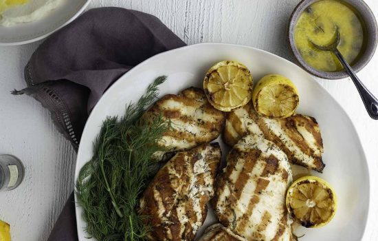 Lemon Dill Keto Marinade: for chicken, seafood, and fish