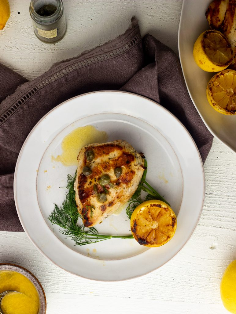 keto lemon dill grilled chicken
