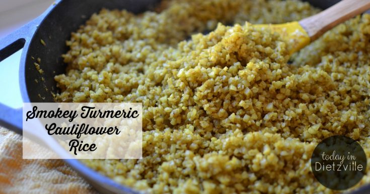 Smokey Turmeric Cauliflower Rice {Low-Carb, Paleo, Whole30, THM:S}