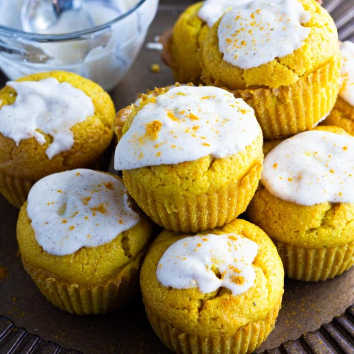 Savory Chai Keto Muffins