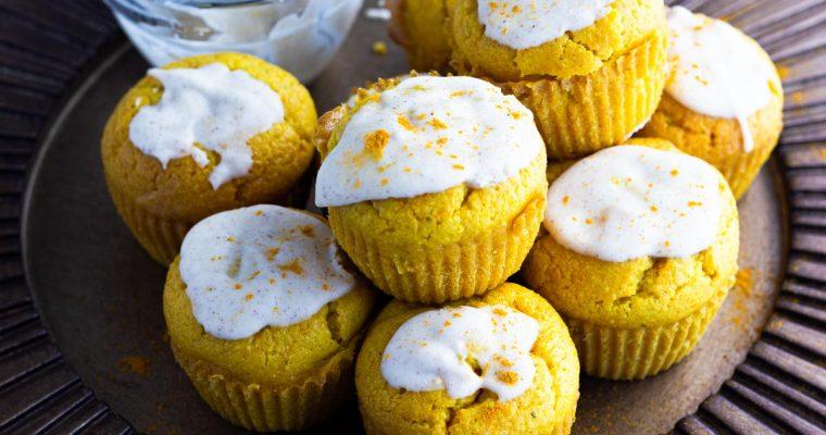 Savory Chai Keto Muffins: gluten free, dairy free