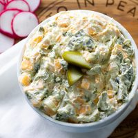 Easy Keto Dill Pickle Dip
