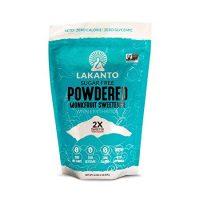 Lakanto Monkfruit Sweetener, 2:1 Powdered Sugar Substitute, Keto, Non-GMO (16 oz)