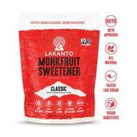 Lakanto Monkfruit 1:1 Sugar Substitute | NON GMO (Classic White, 1 Pound)