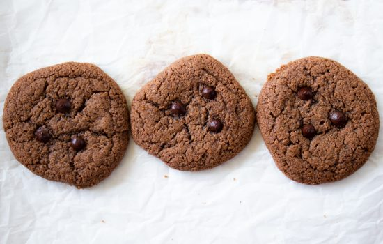 Chewy Keto Chocolate Cookies