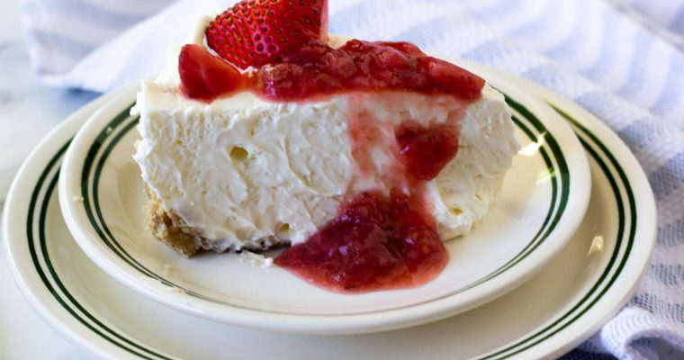 Easy Keto No Bake Cheesecake