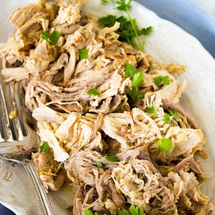 Easy Keto Crockpot Pork Loin