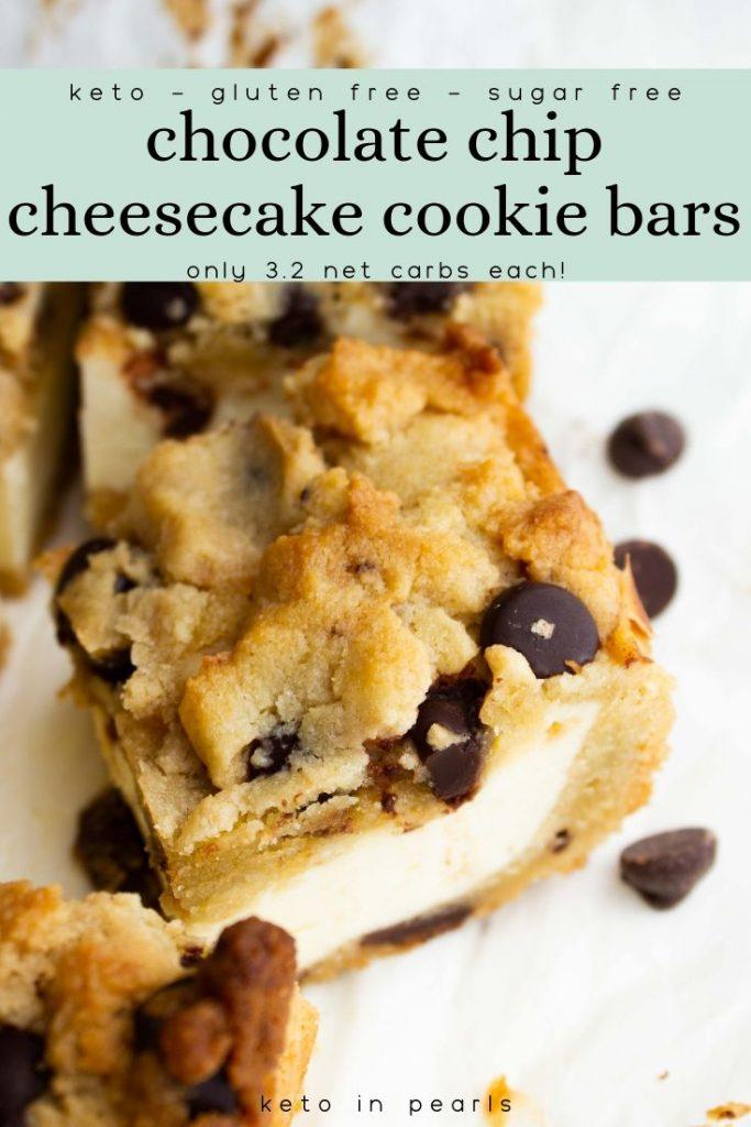 keto in pearls chocolate chip cookies