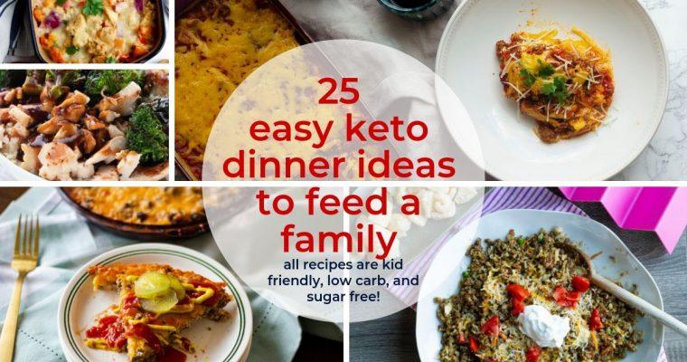 25 Easy Keto Dinner Ideas for Back to School