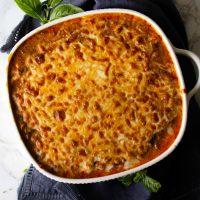 Keto Instant Pot Spaghetti Casserole