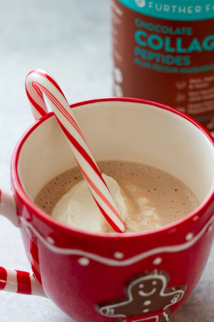 Truly the best instant keto hot chocolate! Full of healthy fat, high in protein, and only 2 net carbs per cup of velvety instant keto hot chocolate!