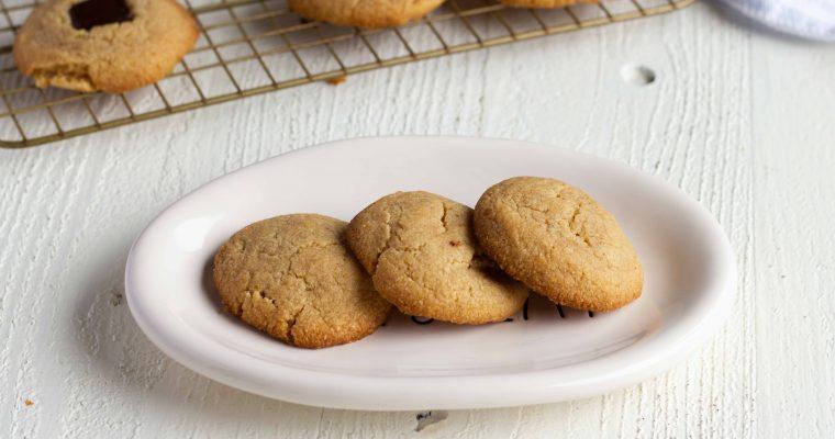 Homemade Sugar Free Peanut Butter Cookies