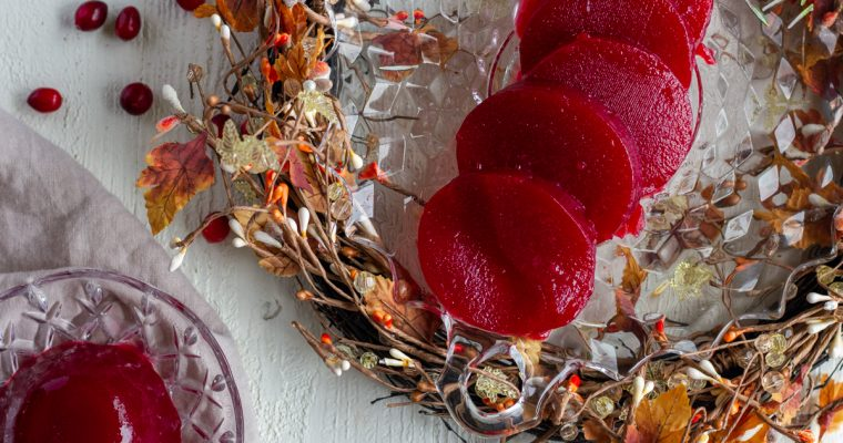 Homemade Sugar Free Cranberry Jelly