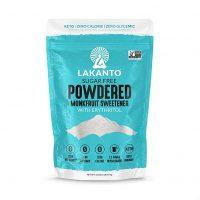 Lakanto Monkfruit Sweetener, 2:1 Powdered Sugar Substitute, Keto, Non-GMO (1 lb)