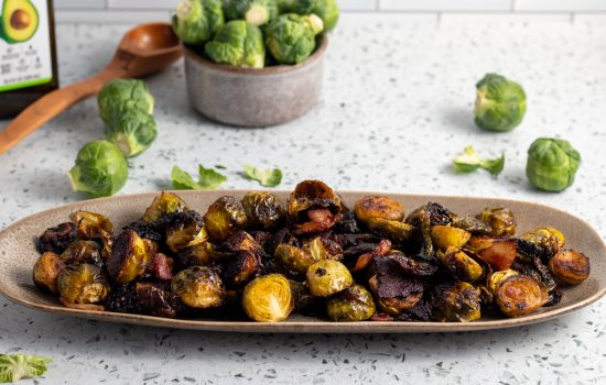 The Best Crispy Keto Brussel Sprouts with Bacon