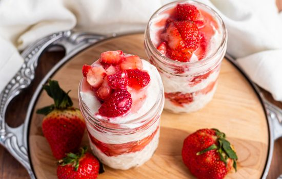 Keto Fresas con Crema (Strawberries and Cream)