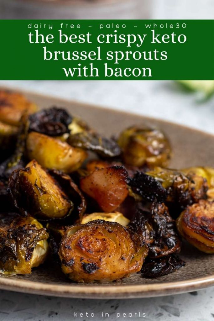 With this failsafe recipe for the best crispy keto brussel sprouts, you won't have to worry about soggy or stinky sprouts ever again! This dairy free, paleo, and Whole30 compliant brussel sprout recipe will be your new favorite way to make sprouts at home!