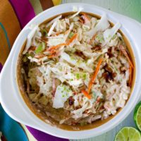 Low Carb Mexican Coleslaw