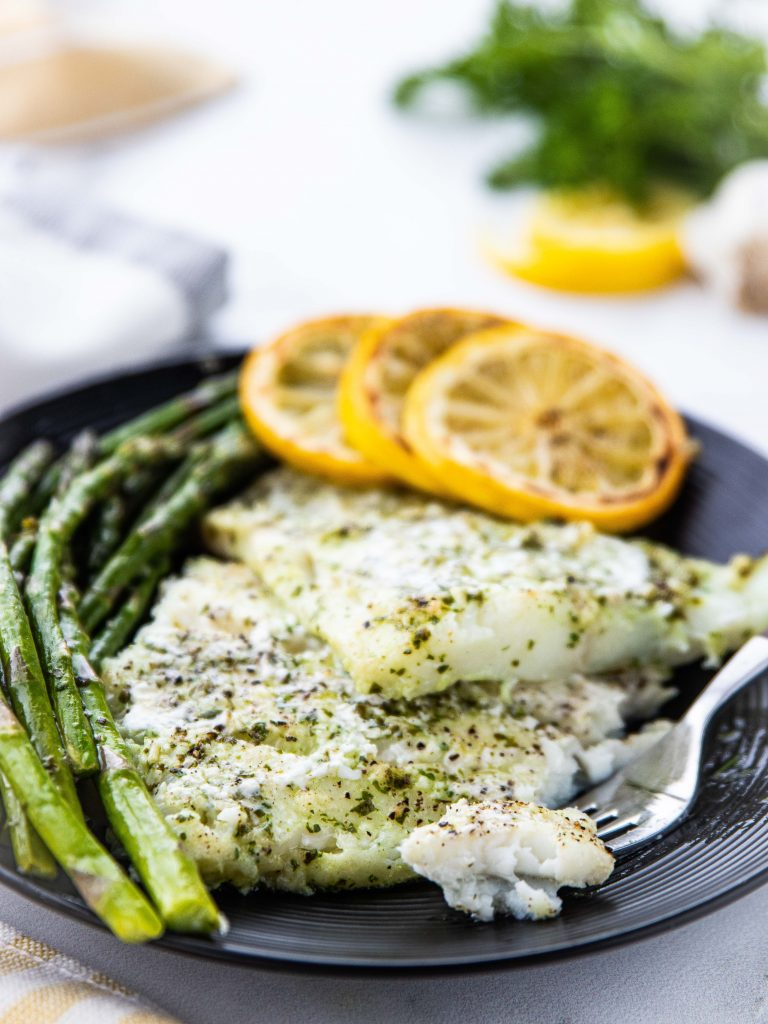 Easy Keto Baked Cod Keto In Pearls