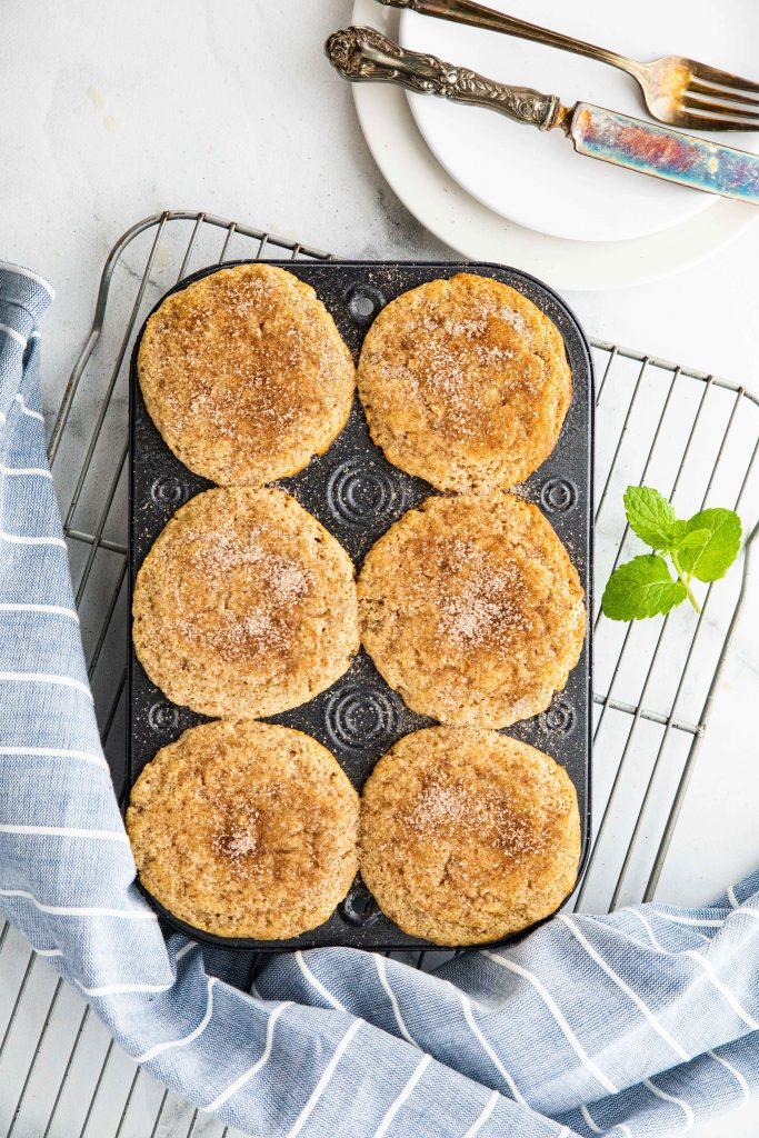 Keto cinnamon sugar muffins taste just like your favorite churro or donut. Of course this easy. keto muffin recipe is 100% sugar free. It's sure to be a new family favorite!