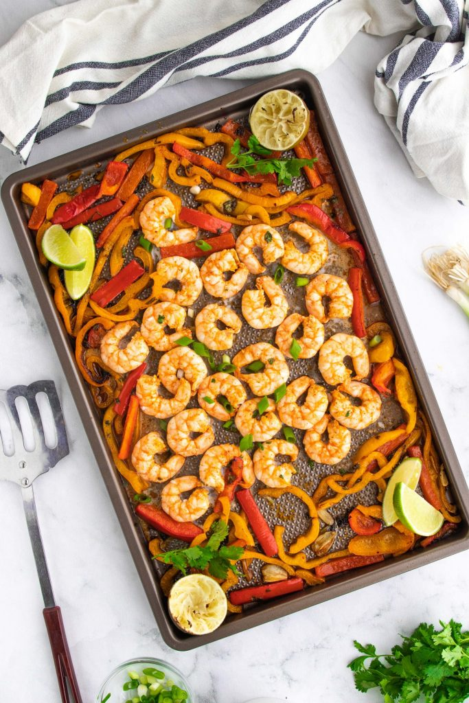 Calling all shrimp lovers! These fiery and robust chili lime keto sheet pan shrimp are going to be your new go-to keto shrimp recipe. They're ready in just 20 minutes and dairy free, paleo, and Whole30 too!
