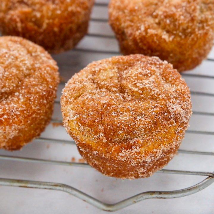 Keto Cinnamon Sugar Muffins